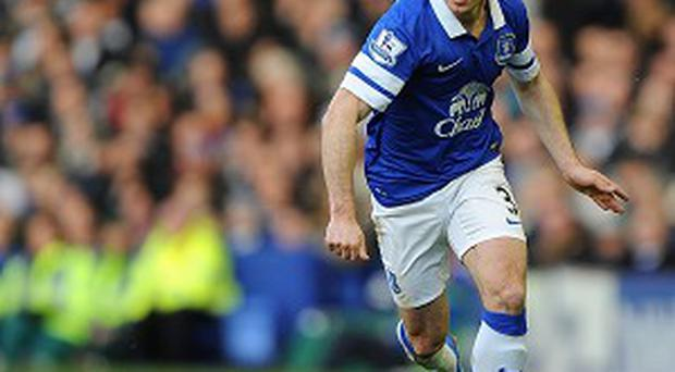 Leighton Baines is set to extend his stay at Everton