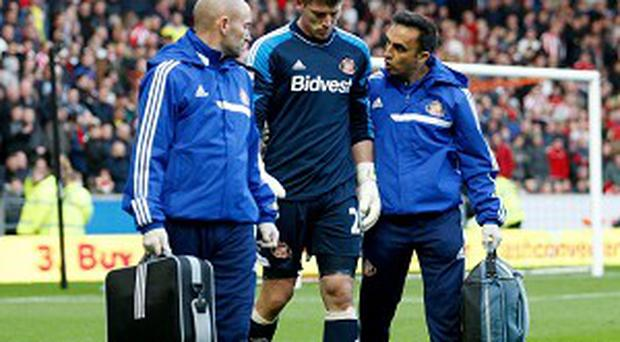 Keiren Westwood has not featured since he injured his shoulder at Hull in November