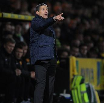 Chris Hughton is under pressure having overseen a six-game winless run in the league