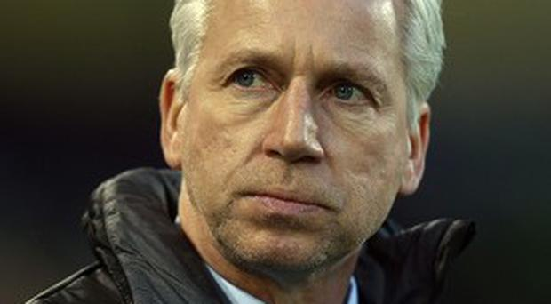Alan Pardew admits he has a competitive nature on the sideline