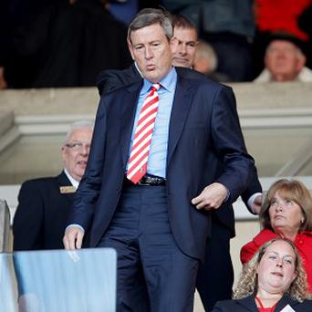 Ellis Short, pictured, has decided to remove Roberto De Fanti from his position as director of football