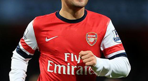 Santi Cazorla is attracting the attention of Atletico Madrid