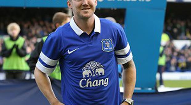 Aiden McGeady could make his Everton bow on Monday