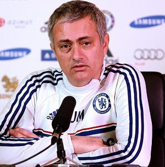 Jose Mourinho says 'I have a four-year contract, so hopefully I'll beat the record'