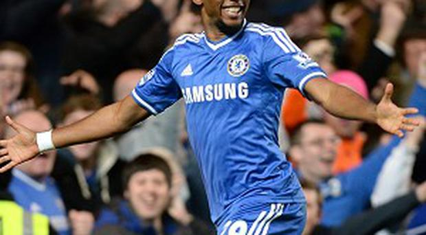 Samuel Eto'o's hat-trick won the game for Chelsea at Stamford Bridge
