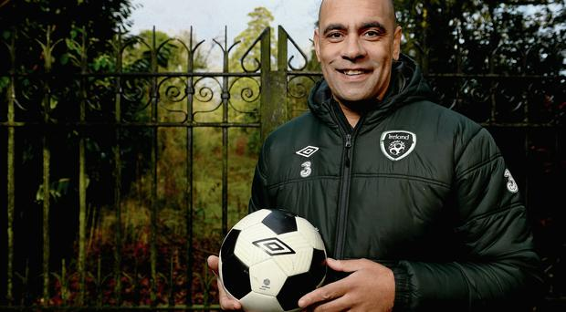 Paul Osam, who is now FAI Development Officer for Westmeath pictured in Lucan