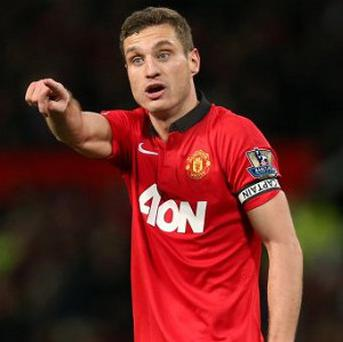 Nemanja Vidic gave his winning medal to his team-mate