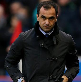 Everton boss Roberto Martinez, pictured, is backing West Brom manager Pepe Mel to be successful