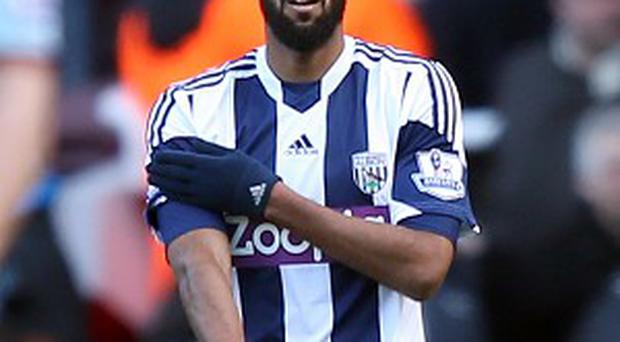 West Bromwich Albion's Nicholas Anelka's gesture has caused controversy