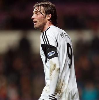 Michu's last game was against Norwich in mid-December