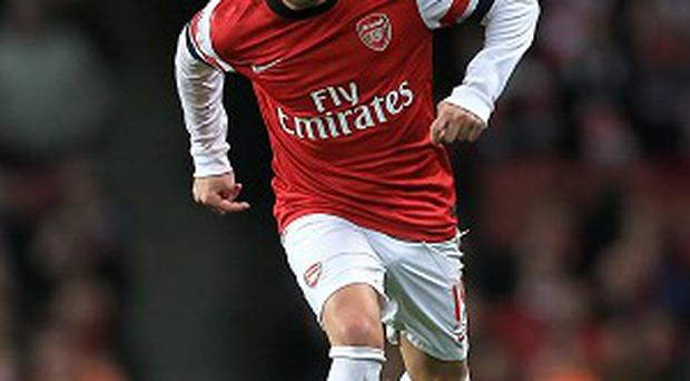 Santi Cazorla bagged a brace in Arsenal's win over Fulham on Saturday