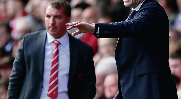 The progress of Liverpool under Brendan Rodgers should provide some encouragement for Manchester United boss David Moyes GETTY IMAGES