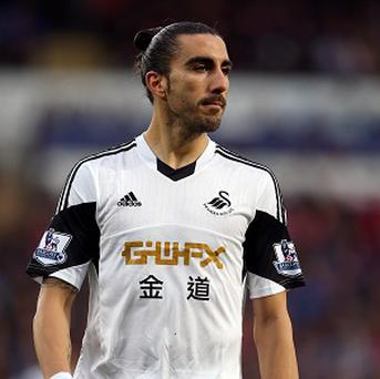 Chico Flores, pictured, has played down his spat with Garry Monk