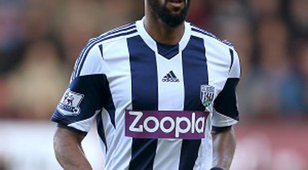 Nicolas Anelka has played on for West Brom amid the investigation into his gesture