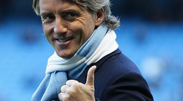 Roberto Mancini enjoyed success as Manchester City manager