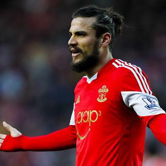 Dani Osvaldo has been suspended for two weeks