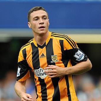 James Chester is hampered by a hamstring problem