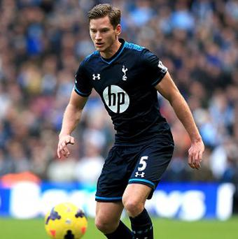 Jan Vertonghen is one of four Tottenham players who are edging closer to returning from injury