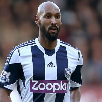 Nicolas Anelka says he is 'happy' at West Brom