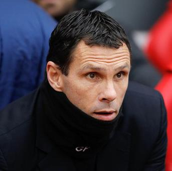 Gus Poyet, pictured, is close to bringing Ignacio Scocco to Sunderland