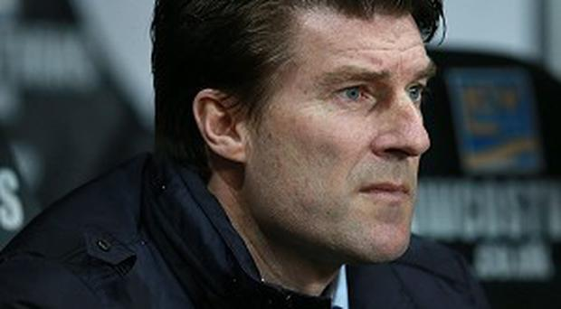 Michael Laudrup breathed a sigh of relief after Swansea's victory