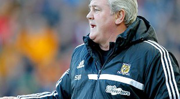 Steve Bruce was not impressed with the referee