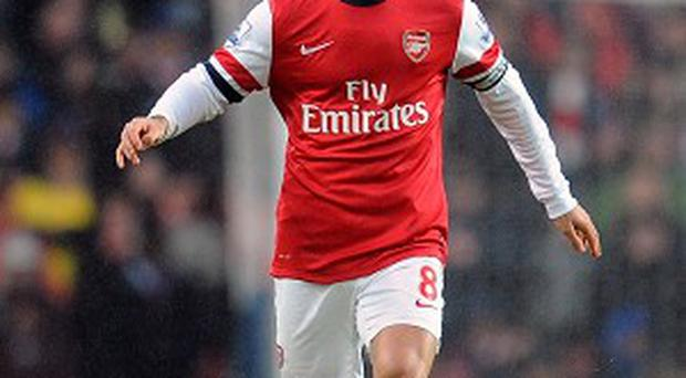 Mikel Arteta returned from injury at Southampton on Tuesday