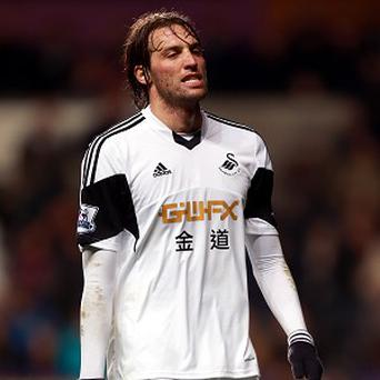 Michu has not featured for Swansea since December 15