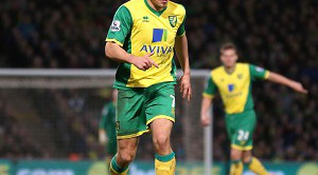 Robert Snodgrass was on the receiving end of criticism from the Norwich faithful on Tuesday
