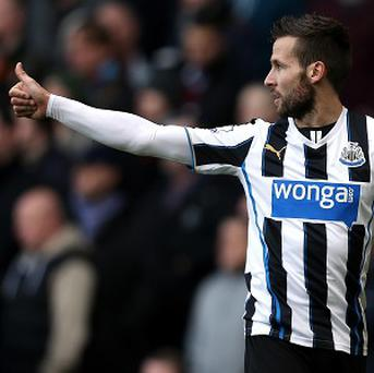 Yohan Cabaye said farewell to Newcastle with a double in the recent win at West Ham