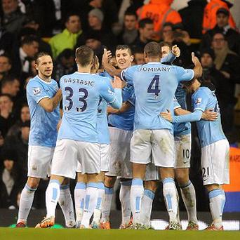 Manchester City were in rampant mood as they scored five at Tottenham
