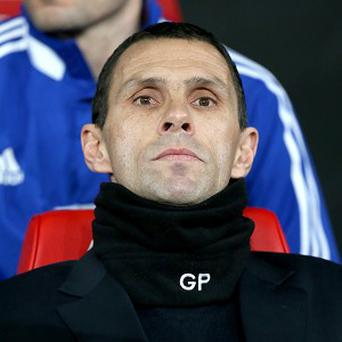 Gus Poyet, pictured, has brought in Ignacio Scocco