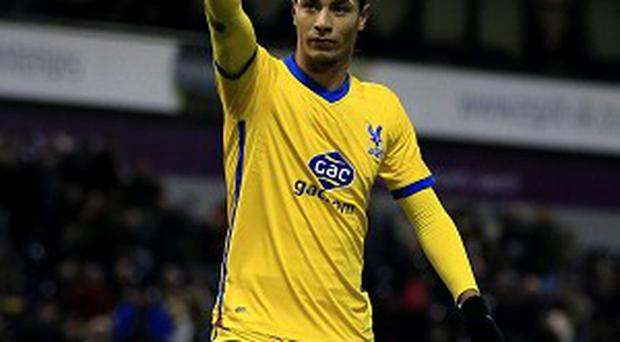 Marouane Chamakh has scored five goals for Palace this season