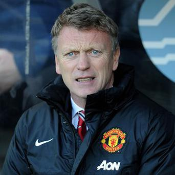 David Moyes is content with his Manchester United squad