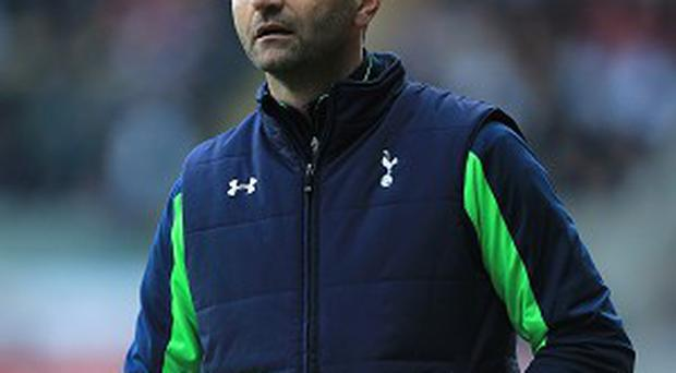 Tim Sherwood is content with his Spurs squad