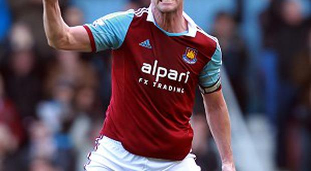 Kevin Nolan bagged a brace against Swansea