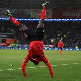 Kenwyne Jones scored the winner for Cardif