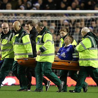 Everton's Gerard Deulofeu has been out of action since December