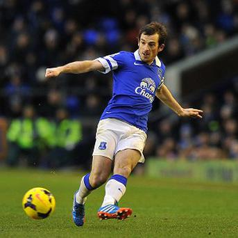 Leighton Baines enjoys playing under Roberto Martinez