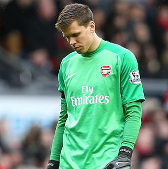 Wojciech Szczesny took to Facebook to vent his frustration over Arsenal's defeat to Liverpool