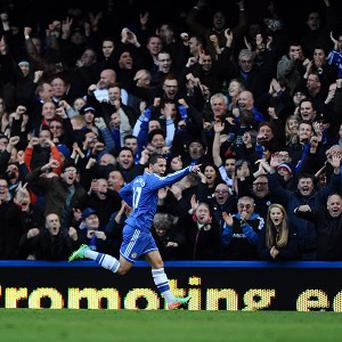 Eden Hazard netted a hat-trick in Chelsea's 3-0 win