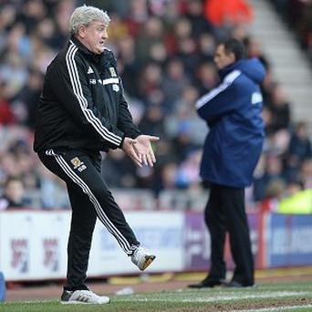 Steve Bruce was victorious on his return to Sunderland