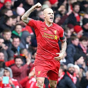 Martin Skrtel netted twice in the early stages