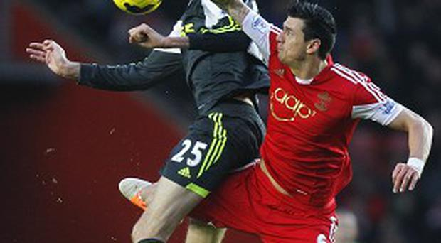 Jose Fonte, right, was attacked by Dani Osvaldo in a training-ground incident
