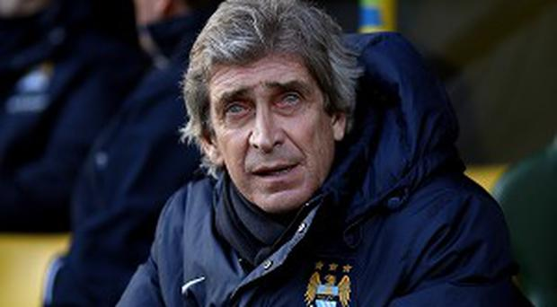 Manuel Pellegrini believes City have overtaken United this season.
