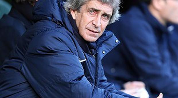 Manchester City's manager Manuel Pellegrini will be looking to get back to winning ways against Sunderland