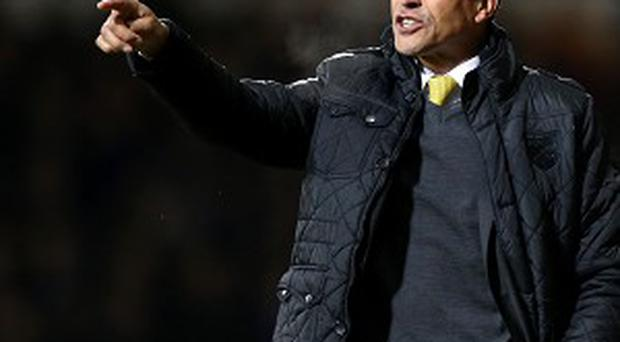 Chris Hughton is concerned with his side's finishing
