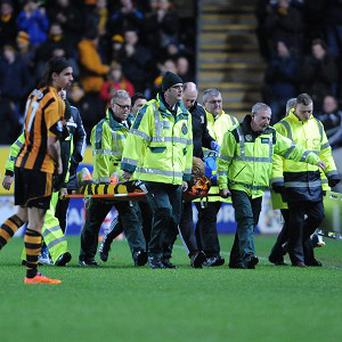 Hull City's Paul McShane is set for a lngth spell on the sidelines