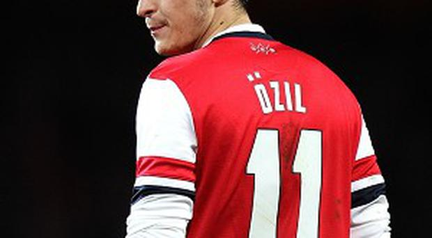 Mesut Ozil has struggled for form after a bright start at Arsenal.