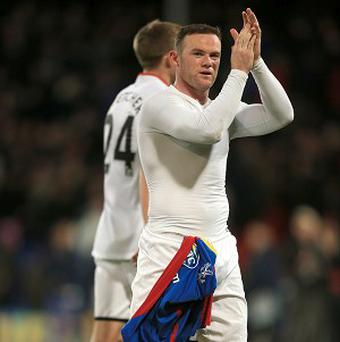 Wayne Rooney celebrated his new deal with Manchester United in style
